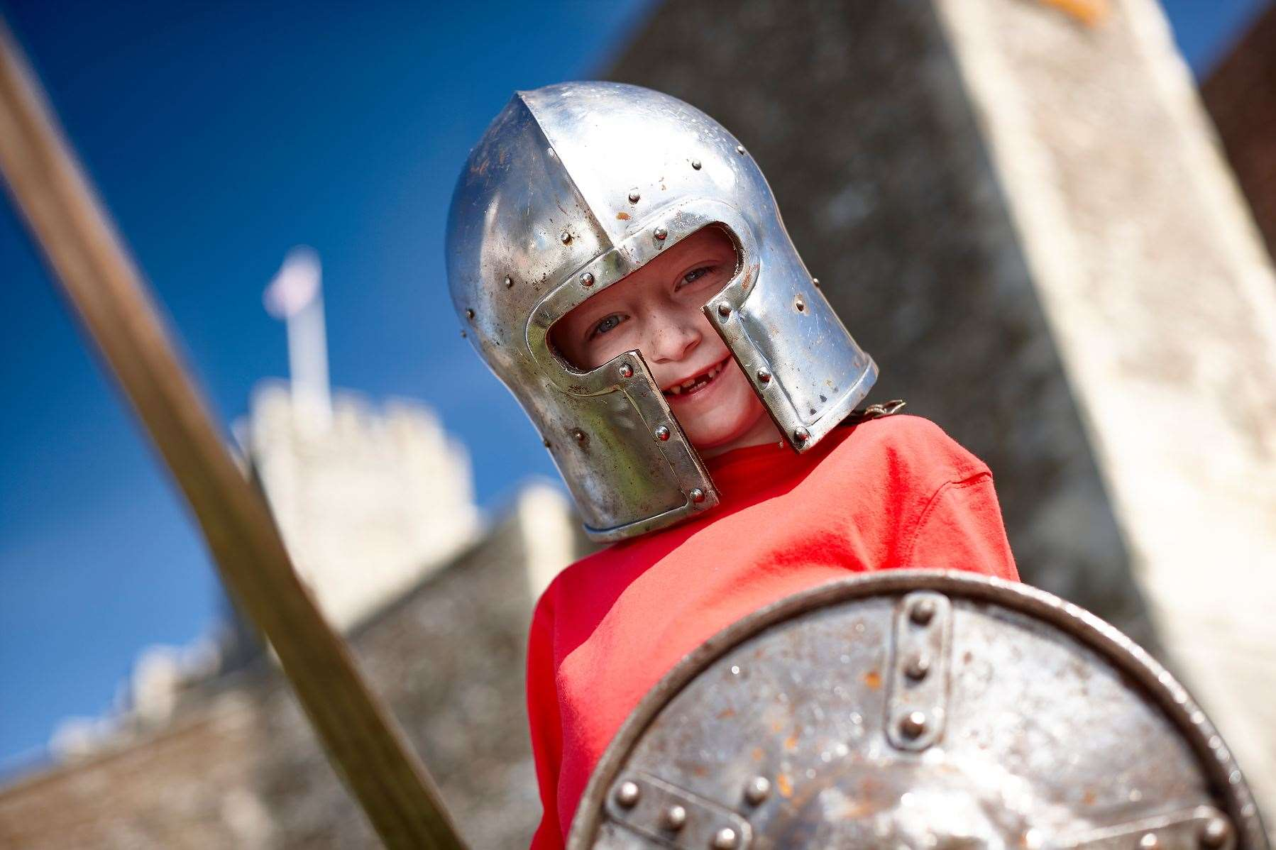 English Heritage have tips on how to dress for St George's Day