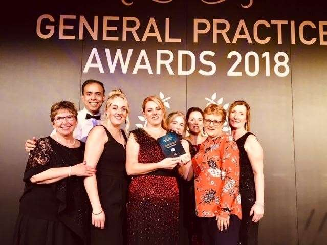 Abbeyview Surgery in Crowland received The Collaboration with Patients and Other Providers Award at the 2018 NHS England General Practice Awards in London.Photo supplied by South Lincolnshire CCG. (10833894)