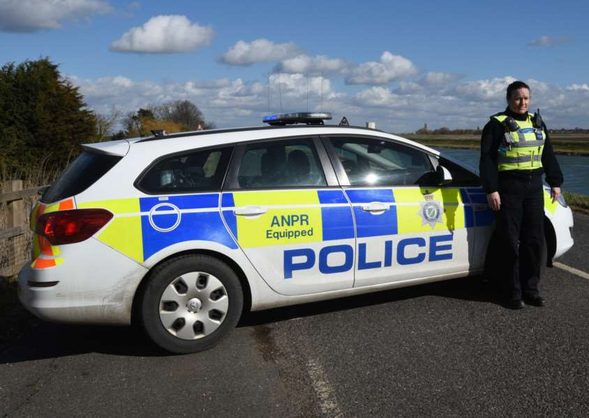 TOWN DISORDER: Increased police patrols are taking place in Crowland. Photo by David Lowndes.