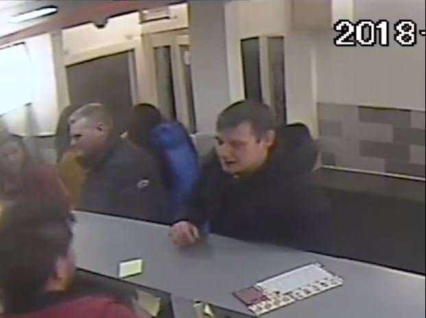 Police have released CCTV images of people who they believe may be able to assist with enquiries.
