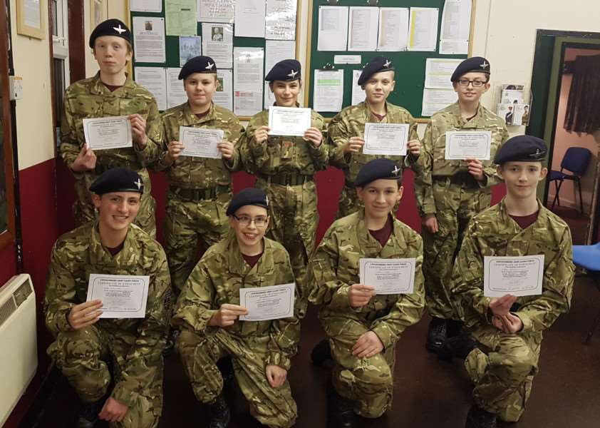 New Long Sutton Army Cadets