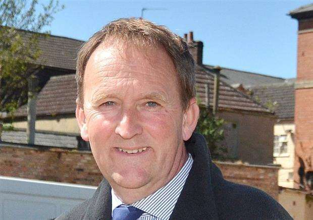 Coun Nick Worth, Lincolnshire County Council member for Holbeach.