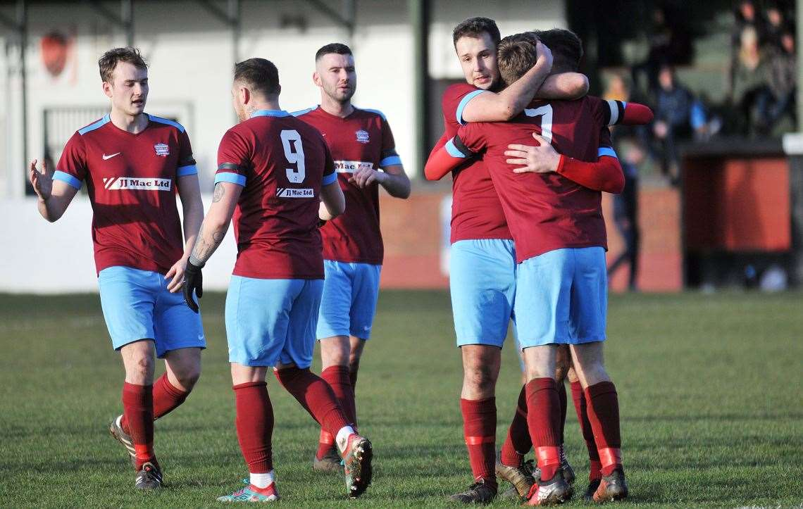 Celebrations against Long Buckby