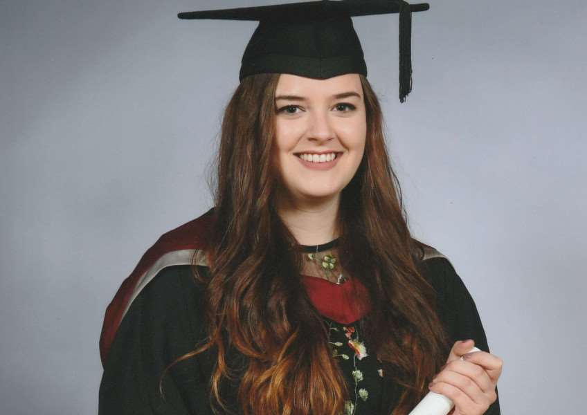 Miss Ashley Louise Wallis of Sutton St James graduated from Sheffield Hallam University with a Degree of Bachelor of Arts in Fine Art.