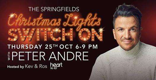 Peter Andrew will switch on the Christmas lights at Springfields later this month. (4515573)