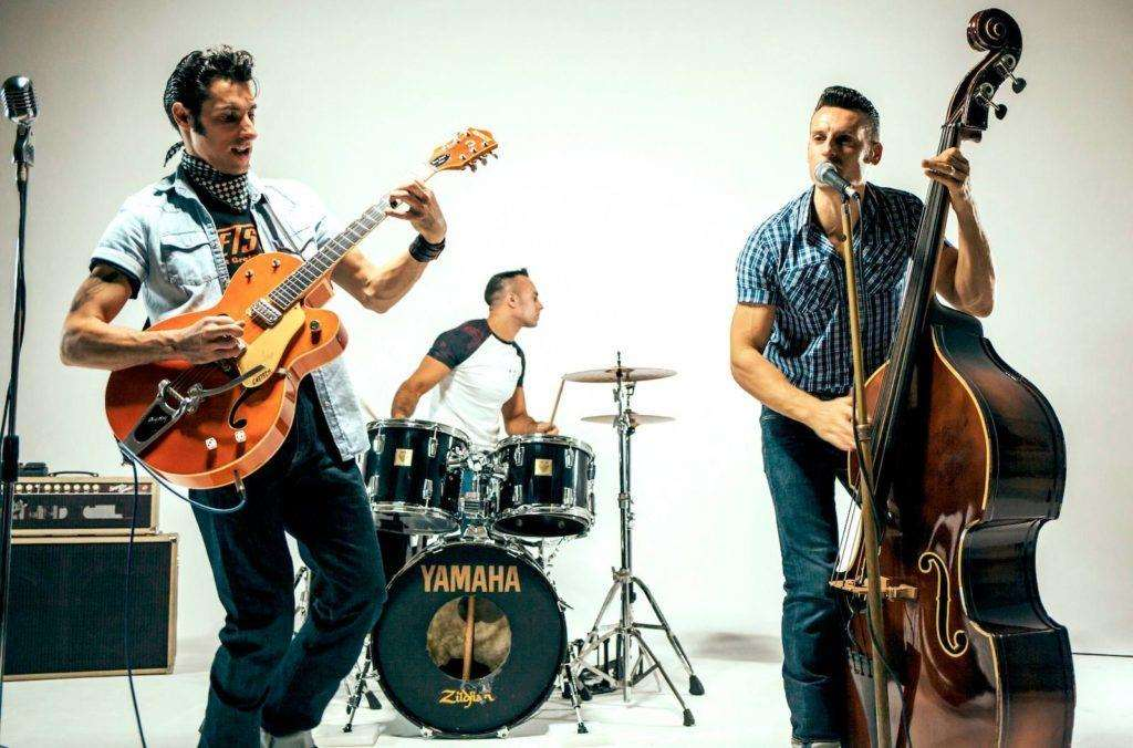 Rockabilly band The Houndogs will provide live music at the ball.