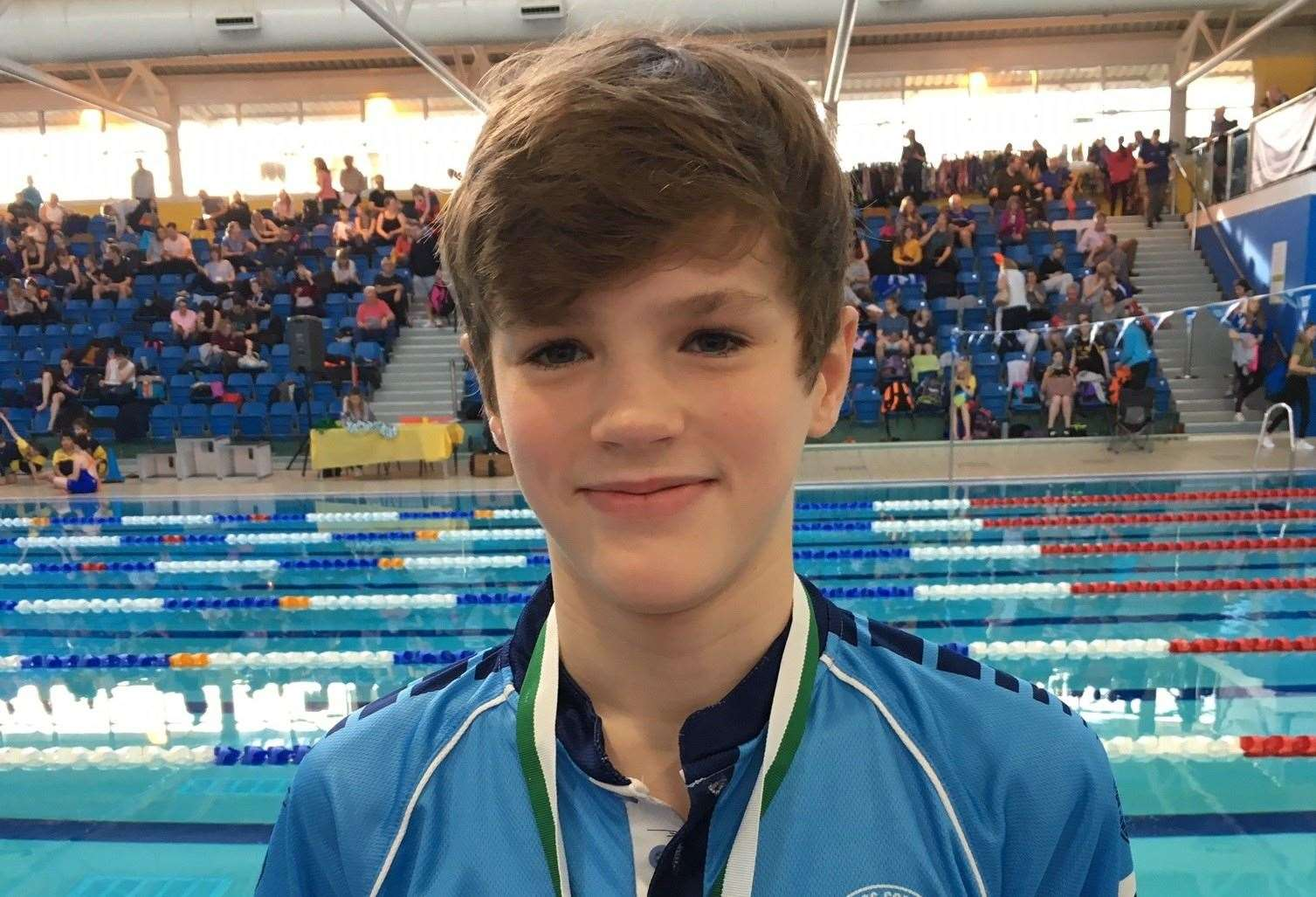 South Lincs Competitive Swimming Club medallists Alex Sadler.Photo supplied.